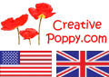 Access the English version of Creative Poppy's website